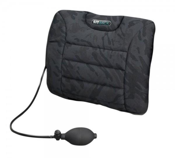 Sitback Air Rückenkissen mit Luftpumpe Lordosenkissen