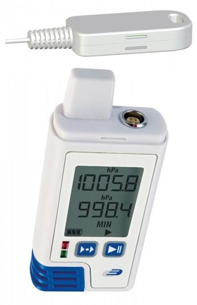 PDF-Datenlogger LOG220E Plus 5005-0222 mit Display für CO2 Temperatur Luftfeuchte Luftdruck