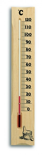 TFA 40.1000 Analoges Sauna-Thermometer aus Kiefer