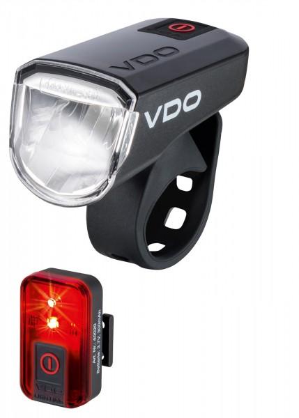 VDO Fahrradlampe ECO LIGHT M30 Set