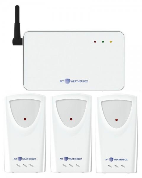 Smart-Temperatur-Luftfeuchtemesser TFA 35.1138.Thermo-Hygrostation