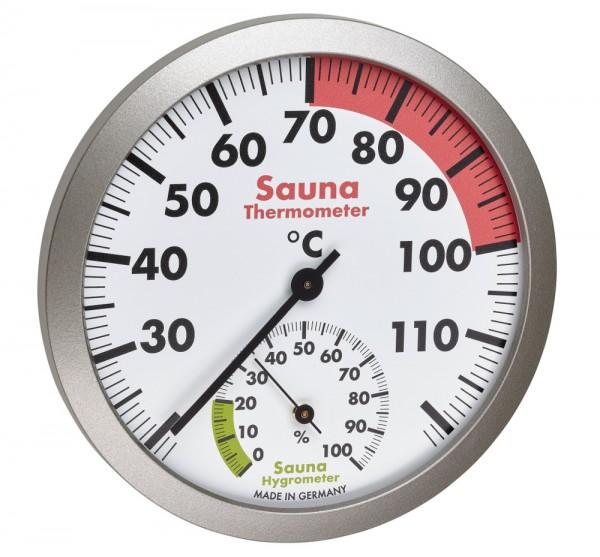 Sauna Thermo-Hygrometer TFA 40.1055.50 Sauna Zubehör