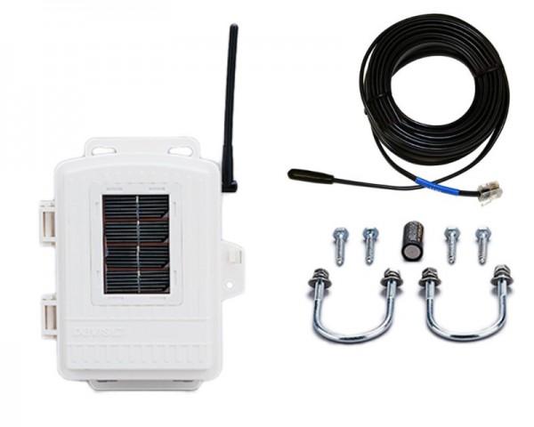 Sparset Davis Solar Temperatur Transmitter Kit 6332 + 6477 Temperaturfühler