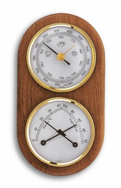 TFA 20.1051 Analoge Wetterstation aus Eiche