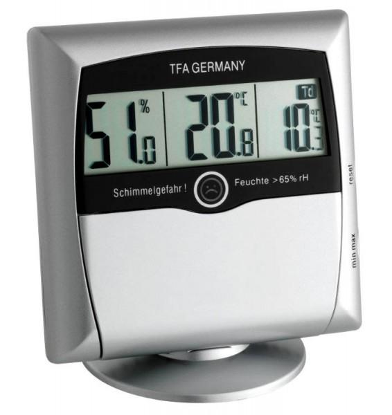 Sonderposten Comfort Control TFA 30.5011.54 Hygrometer-Messgerät Schimmelhygrometer