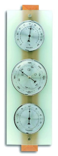 Wetterstation Domatic Buche/Glas TFA 20.1067.05