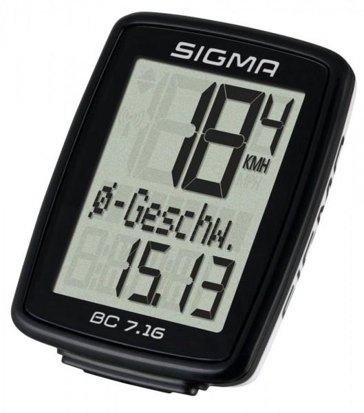 Sigma BC 7.16 Kabel Fahrrad Computer 07160 Fahrradtacho