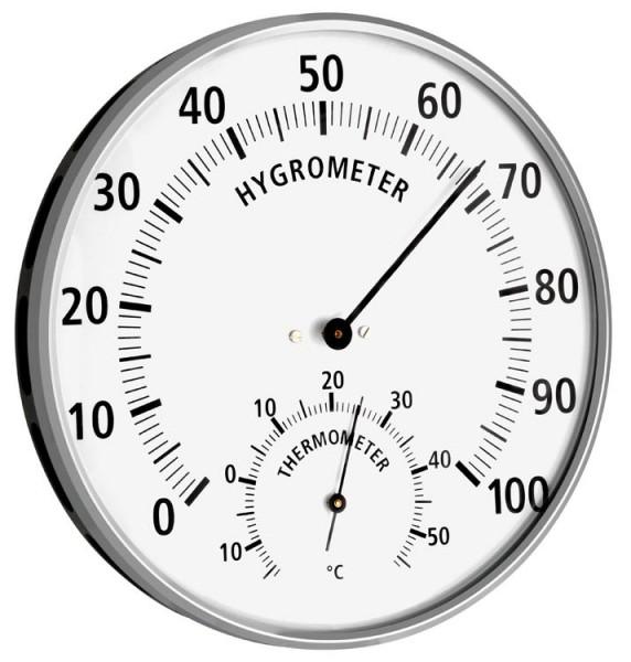 Thermometer-Hygrometer Metall TFA 45.2019