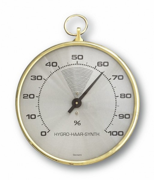 TFA 44.2001 Analoges Hygrometer mit Messingring