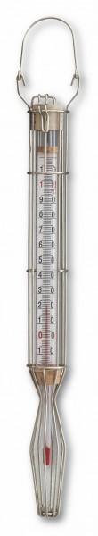 TFA 14.1009 Analoges Kesselthermometer im Drahtgehäuse