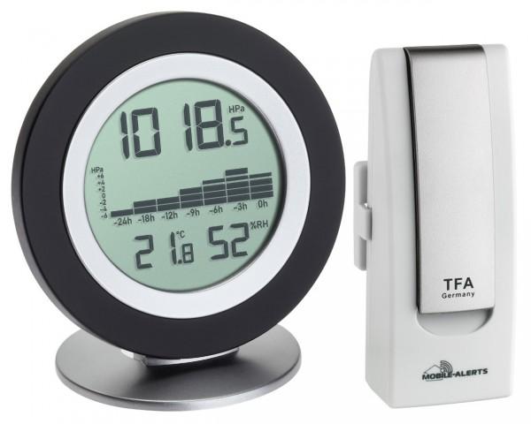 Starterset Cosy Baro TFA 31.4018.02 Digitales Barometer Thermometer Hygrometer
