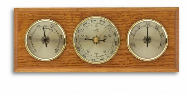 TFA 20.1001 Analoge Wetterstation aus Eiche