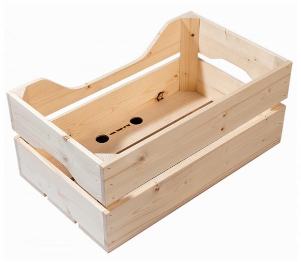 Racktime Holzbox Woodpacker 13024 Fahrrad Holzkiste