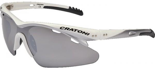 High Fly white Cratoni Sportbrille Sonnenbrille 3QmvytF5c