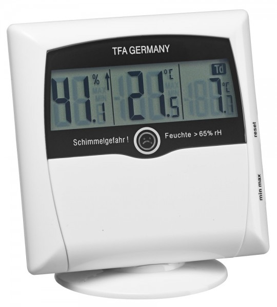 Hygrometer-Messgerät Schimmelhygrometer Comfort Control TFA 30.5011