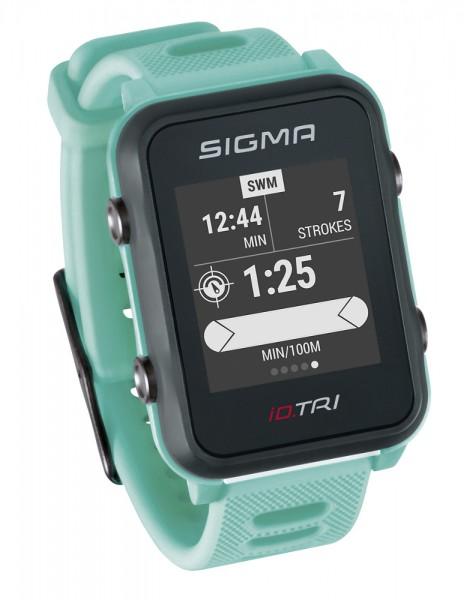 Sigma iD.TRI Multifunktions Sportuhr Handgelenk Pulsmessung
