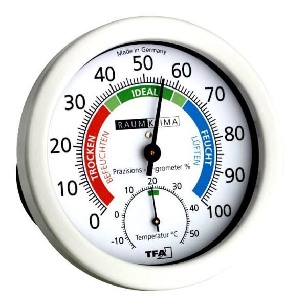 Präzisions-Wohn-Hygrometer Klimachecker 45.2028