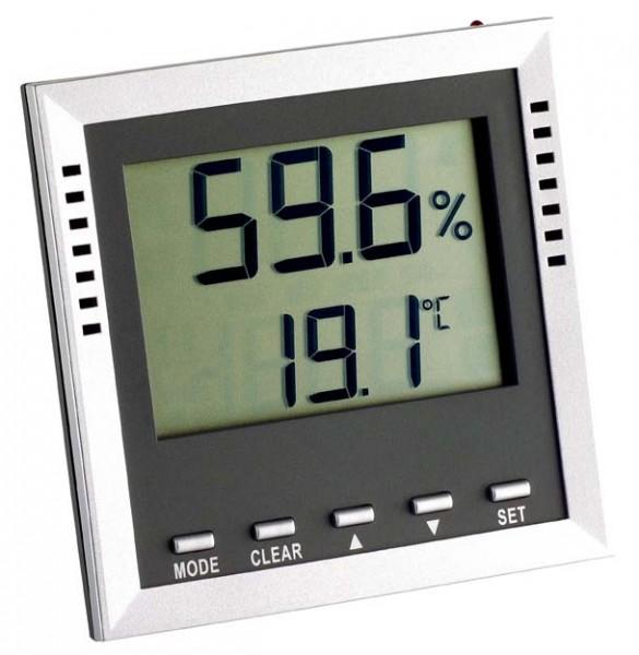 TFA Dostmann 30.5010.54.K.EK Klima Guard digitales Thermometer Hygrometer inkl. ISO Zertifikat