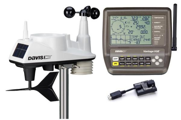 Davis Vue 6250EU Sparpaket 6250EU + 6510 USB Weatherlink