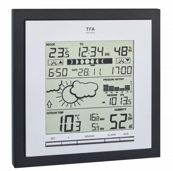 Funk-Wetterstation Linea Plus TFA 35.1144.01.IT Funkwetterstation