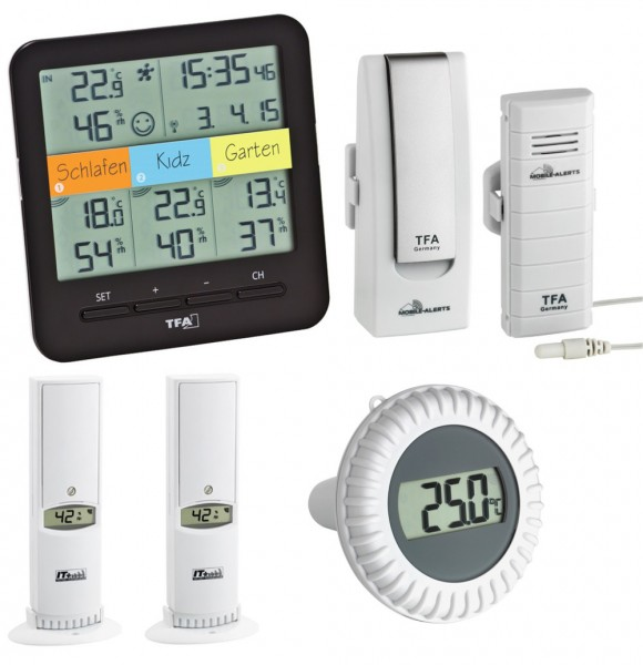 Pool klimahome tfa schwimmbadthermometer for Schwimmbadthermometer
