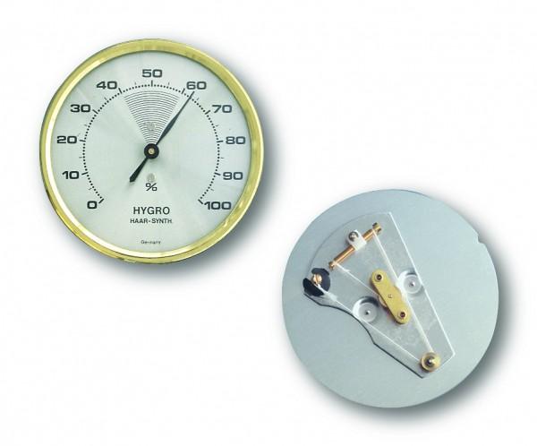 TFA 44.2000 Analoges Hygrometer mit Messingring