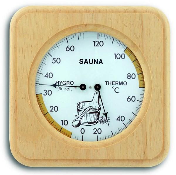 Sauna-Thermometer-Hygrometer TFA 40.1007