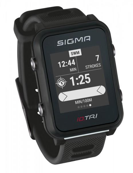 Sigma iD.TRI Set Multifunktions Sportuhr Triathlon Schwimmen Joggen