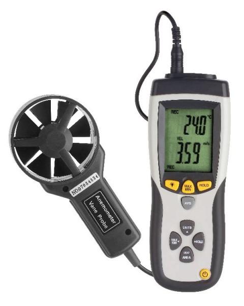 Anemometer VA 893 Profi-Windmesser