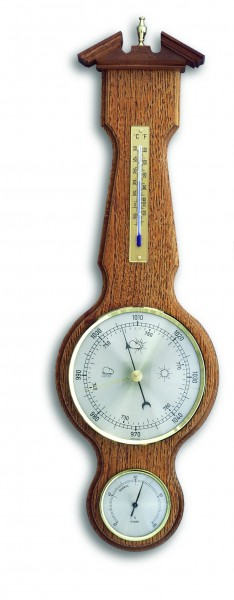 TFA 20.1047 Analoge Wetterstation aus Massivholz