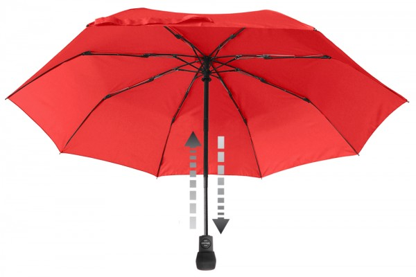 Euroschirm Taschenschirm light trek automatik Regenschirm mit auf / zu Automatik