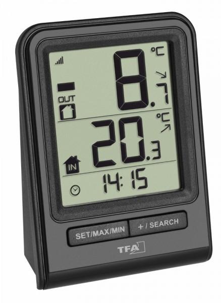 Funk-Thermometer Prisma TFA 30.3063 Funkthermometer