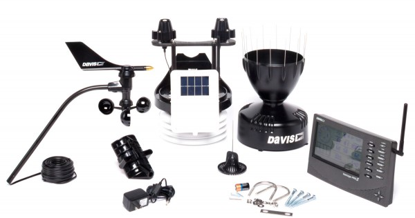 Wetterstation Davis Vantage Pro 2 Plus 6162EU inkl. Solar und UV