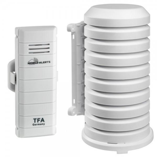 Weatherhub Temperatursender TFA 30.3300.02 mit Wetterschutzgehäuse Funksender