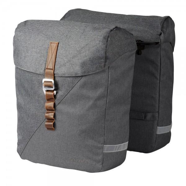 Racktime Doppel-Fahrradtasche Heda Gepäckträgertaschen