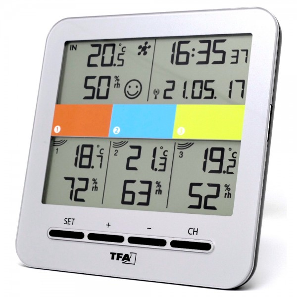 KlimaHome TFA 30.3060.IT Funk-Thermo-Hygrometer