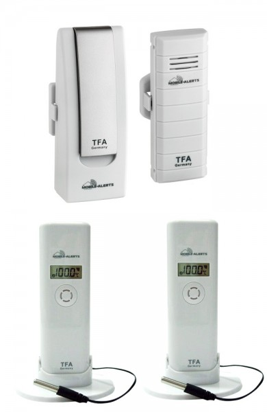 WeatherHub Solar-Heizungs-Kontrollset TFA 31.4001.02.10