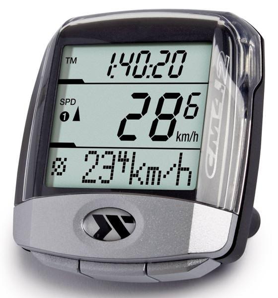 Ciclosport Fahrradtacho CM 4.2 HR mit Pulsmessung Fahrradcomputer